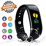 MULKSUL Fitness Tracker,Activity Tracker Fitness Watch with Heart Rate Monitor Color Screen,Waterproof Fitness Tracker Watch with Step Counter,Calorie Counter,Pedometer for Kids Women Men