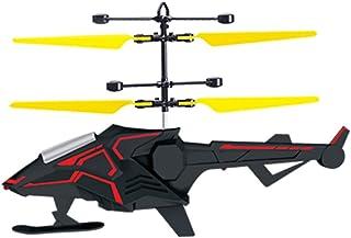 Odors Drago a induzione infrarossa Drone RC Giocattolo Volante Controllo Mano Elicottero Giocattoli novità Festa di S. Pasqua Regali di Compleanno per Bambini Ragazzi Ragazze (Colore : Nero)