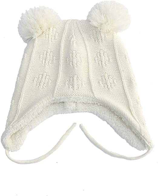 KFEK Orejeras Infantiles algodón más Terciopelo Gorro de Punto ...