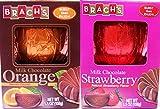 Brachs Variety Combo Milk Chocolate Orange & Strawberry Ball, 5.5 Oz (Pack of 2)