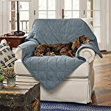 Orvis Grip-Tight Quilted Throw/Only Large, Pacific Blue, Large
