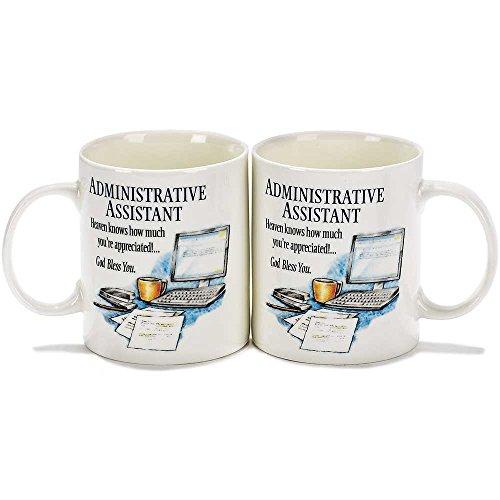Mug Stoneware 10 oz - Administrative Assistant