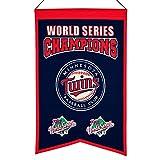 MLB Minnesota Twins WS Champions Banner, One Size