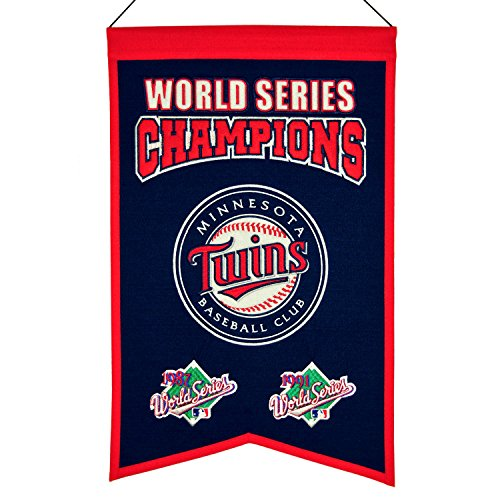 MLB Minnesota Twins WS Champions Banner, One Size - Champions Minnesota Twins