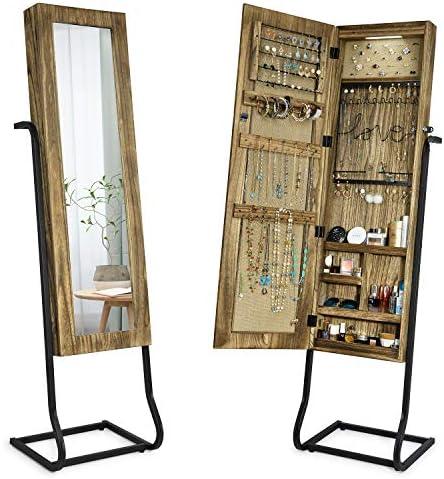 SRIWATANA Jewelry Standing Organizer Carbonized product image