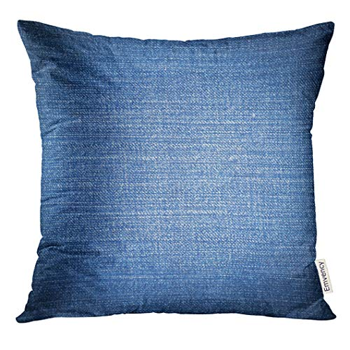 - UPOOS Throw Pillow Cover Black Denim of Blue Jeans Blank Canvas Decorative Pillow Case Home Decor Square 20x20 Inches Pillowcase