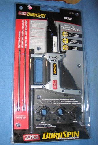 Senco Dura Spin Screw Gun Attachment Screw Range 1''-2'' 25-50mm #790012N by Senco