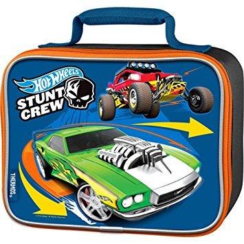 Hot Wheels Licensed Thermos LLC Soft Lunch Box (Box Hot Wheels Lunch)