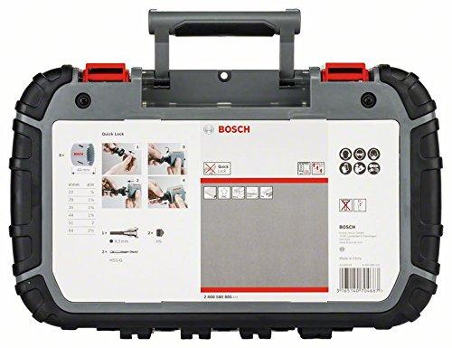 Lochs/ägen-Set HSS Bimetall f/ür Standardadapter Bosch Professional Pro 11tlg
