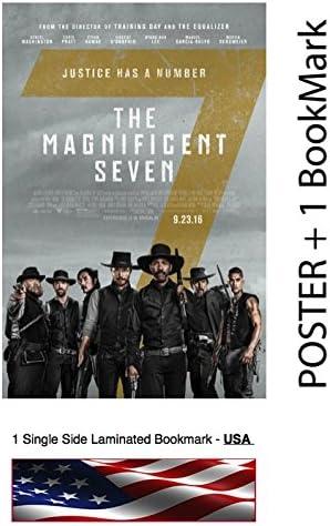 B USA NEW The Magnificent Seven Movie POSTER 11 x 17 Denzel Washington