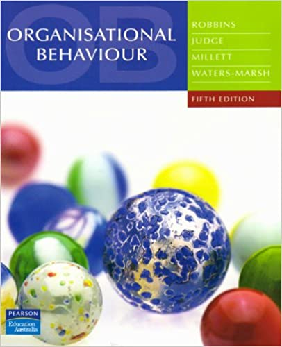 Organisational Behaviour Book By Stephen Robbins