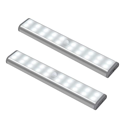 on sale d3f95 d8929 HausLichts Under Cabinet Lighting, 20 LED Motion Sensor ...