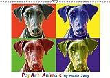 PopArt Animals (Wandkalender 2014 DIN A3 quer): PopArt-Portraits by Nicole Zeug (Monatskalender, 14 Seiten)
