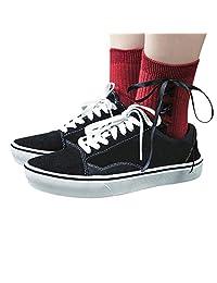 Students Bowknot Socks Folding Socks Stylish Stockings