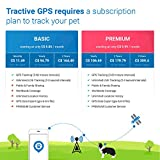 Tractive 3G GPS Dog Tracker - Lightweight and Waterproof Dog Tracking Device with Unlimited Range