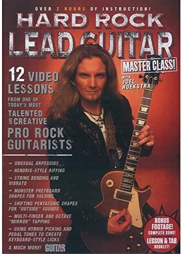 Guitar World -- Hard Rock Lead Guitar Master Class!: 12 Video Lessons from One of Today's Most Talented and Creative Pro Rock Guitarists