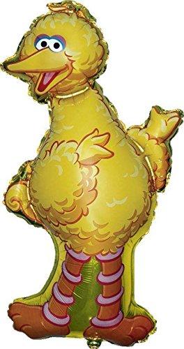 Sesame Street Big Bird Shaped Supershape Foil Balloon