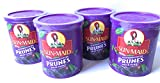 Sun Maid Pitted Prunes - 4 16 oz Canisters of Delicious Dried Prunes - GREAT VALUE
