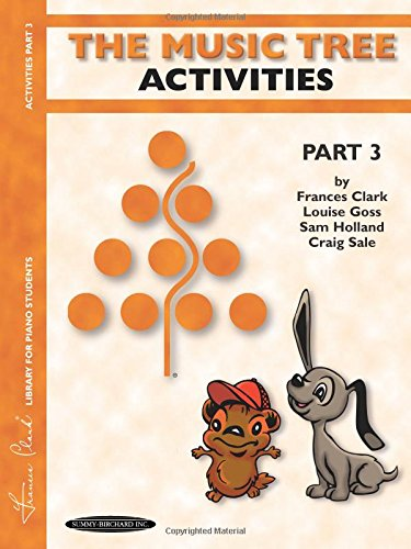 (The Music Tree Activities Book: Part 3)