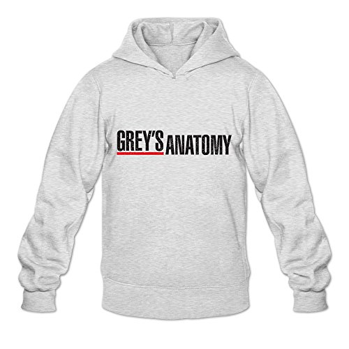 Price comparison product image NUBIA Grey's Anatomy Long Sleeve Sweatshirt For Men Ash SizeS