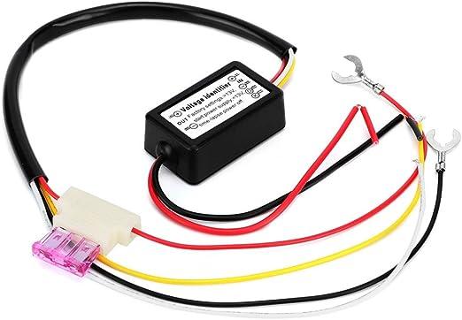 Control de Luz de Marcha Diurna, LED Multifuncional Controlador de Luz de Marcha Diurna Módulo de Interruptor de Control de Retardo de Atenuación: Amazon.es: Coche y moto