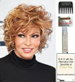 Chic Alert Wig by Raquel Welch, 15 Page Christy's Wigs Q & A Booklet, 2oz Travel Size Wig Shampoo, Wig Cap & Wide Tooth Comb COLOR SELECTED: RL2527