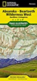 img - for Absaroka-Beartooth Wilderness West [Gardiner, Livingston] (National Geographic Trails Illustrated Map) book / textbook / text book