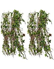 Milageto Lösa 2 miniatyrer vinväxtmodell för järnvägsterräng byggnad layout gör-det-själv
