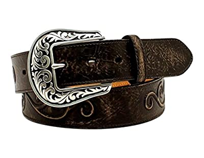 Nocona Women's Raised Scroll Design Belt