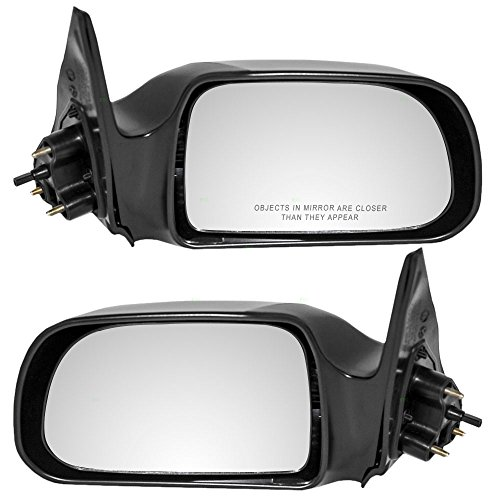 Toyota Mirrors Truck - Driver and Passenger Manual Remote Side View Mirror Replacement for Toyota Pickup Truck 87940-04090 87910-04080