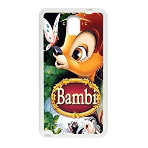 Happy Bambi Case Cover For samsung galaxy Note3 Case