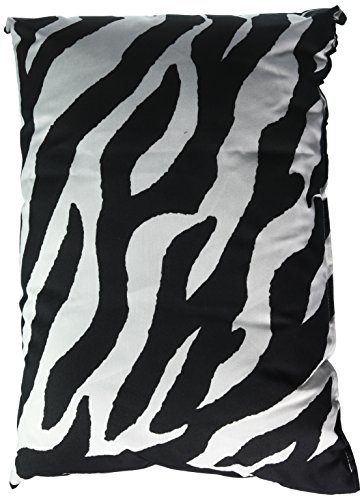 Kimlor Mills Karin Maki Zebra Oblong Pillow, Black ()