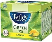 Tetley Green Tea with Lemon, 48 Count
