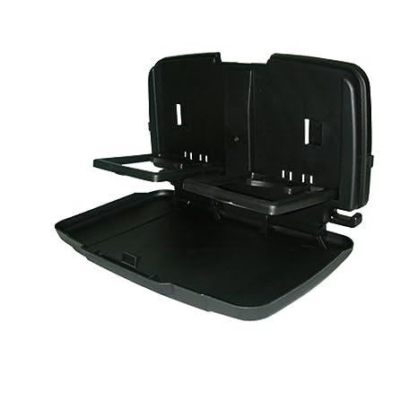 Hypersonic coche asiento trasero Organizador para adultos y niños viaje bandeja portavasos plegable mesa soporte de