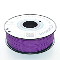 3D Solutech Real Purple 1.75mm PLA 3D Printer Filament 2.2 LBS (1.0KG) - 100% USA by 3D Solutech