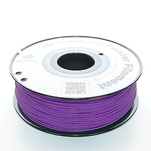 3D Solutech Real Purple 1.75mm ABS 3D Printer Filament 2.2 LBS (1.0KG) - 100% USA from 3D Solutech