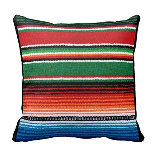 bigdream mexican serape decorative throw