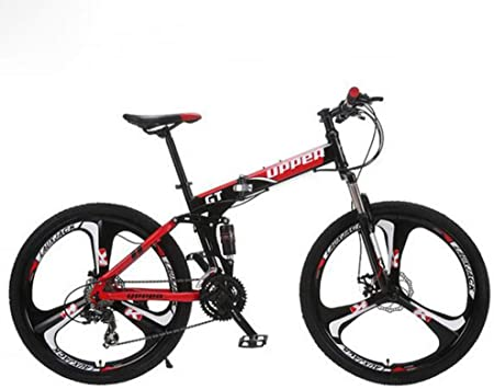 MEICHEN Marco de Bicicleta de montaña Plegable de Acero mecánica ...
