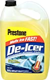 Automotive : Prestone AS250-6PK De-Icer Windshield Washer Fluid - 1 Gallon, (Pack of 6)