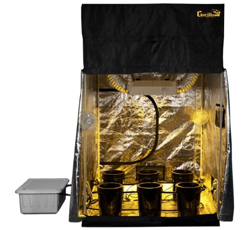 Amazon.com  Grow Room 5x5 SuperCloset SuperRoom Hydroponic System Grow Tent Package  Home And Garden Products  Garden u0026 Outdoor  sc 1 st  Amazon.com & Amazon.com : Grow Room 5x5 SuperCloset SuperRoom Hydroponic System ...