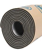 Abahub 236 mil Car Sound Deadener Hood Firewall Heat Shield Insulation Pad Automotive Sound Deadening Mat Aluminum Roll 4