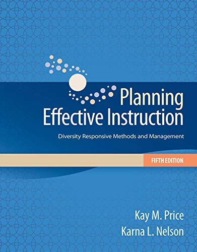 Top 8 recommendation planning effective instruction diversity responsive 2019