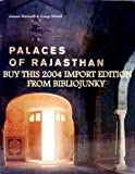 Front cover for the book The Palaces of Rajasthan by George Michell