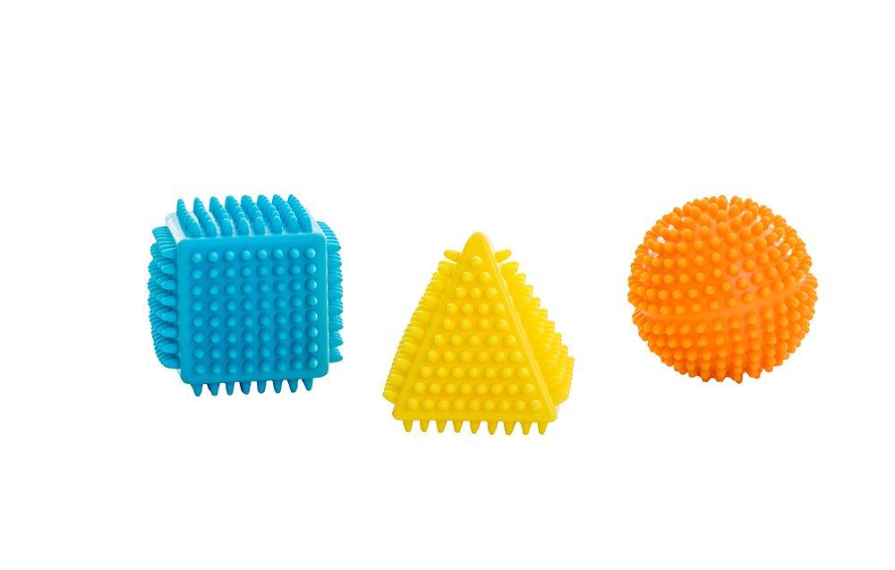 BabyToLove Mes premiè res Set de 3 Balles Forme Tactile BTLA3 370671