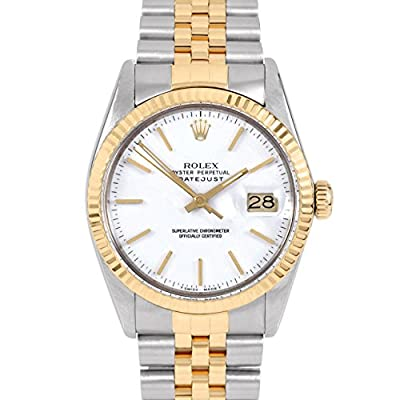 Rolex Datejust Swiss-Automatic Male Watch 16013 (Certified Pre-Owned) by Rolex