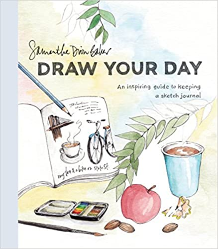 How to Draw Your Day a how to draw book for adults.