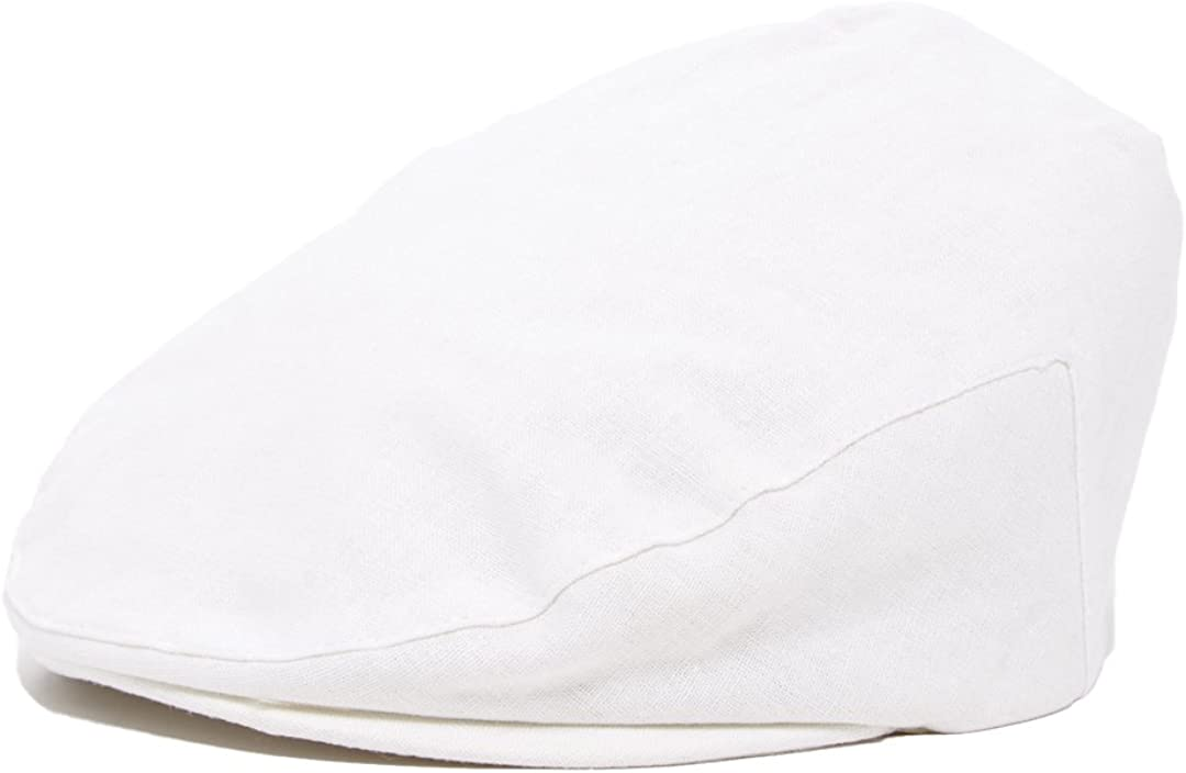 Born to Love Scally Cap White Baptism Christening Baby Jeff Driver Cap: Infant And Toddler Hats: Clothing