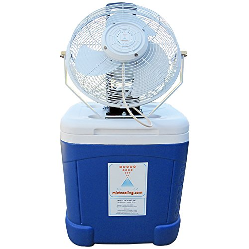Best Portable Misting Fans With Tank : Portable misting system coolermax gallon tank