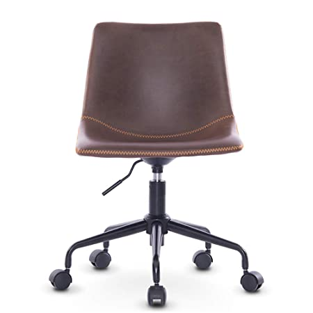 DJ·Wang Sillón de Oficina de Piel casa, cómodo sillón para ...