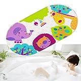 Kangkang@ Kids Cartoon Non Slip Suction PVC Safety Bath Shower Mat Bathroom Toliet Rugs tapis de bain tapete para banheiro (animal world,)